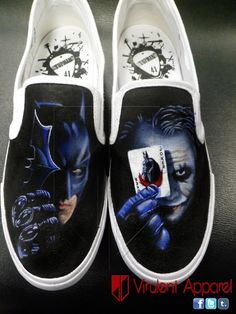 Drawn vans boy Vans Boy Painted Dark Custom