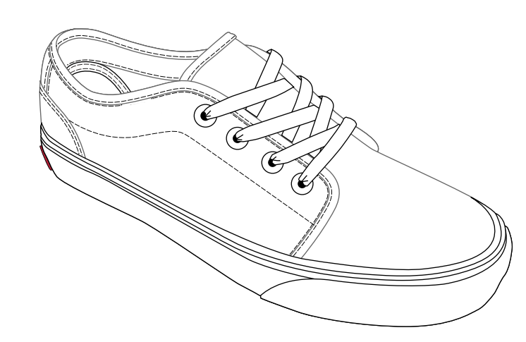 Drawn vans canvas shoe Made: are Construction Shoes