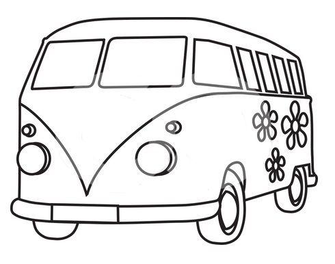 Drawn vans cartoon Combi Pinterest on vw Van