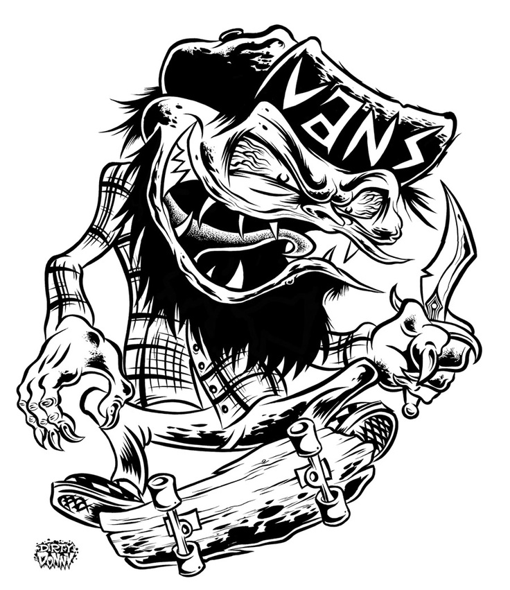 Drawn vans cartoon Donny 2573 about Vans images
