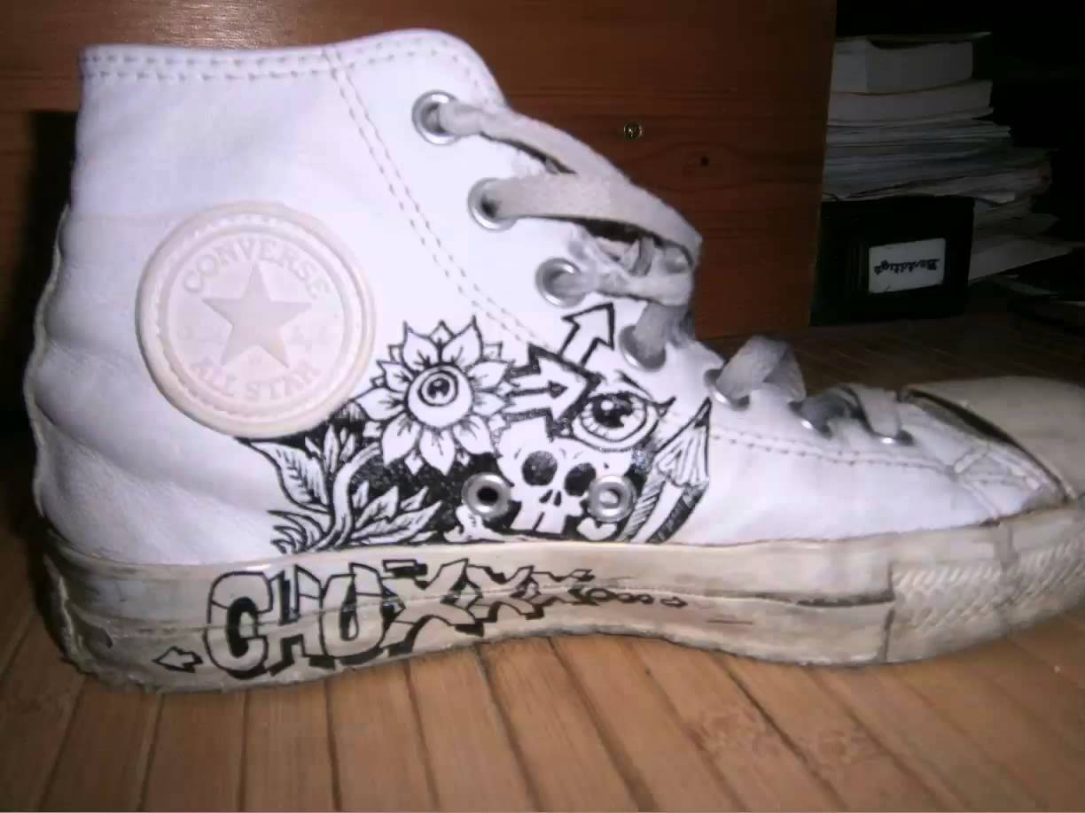 Drawn shoe all star On ABSNP a shoe