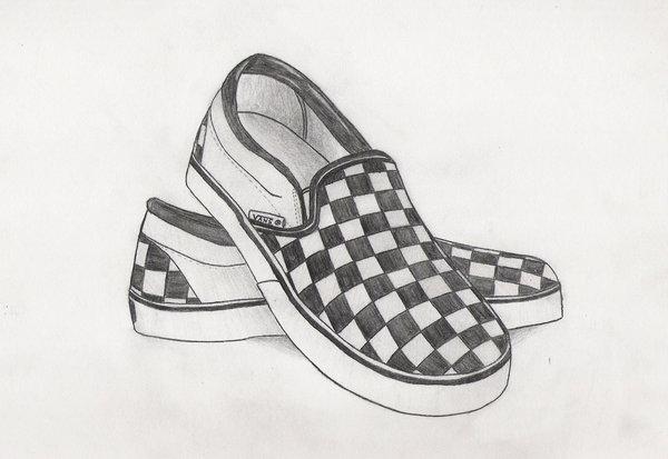 Drawn vans cool shoe Vans Slips drumbum267 DeviantArt by