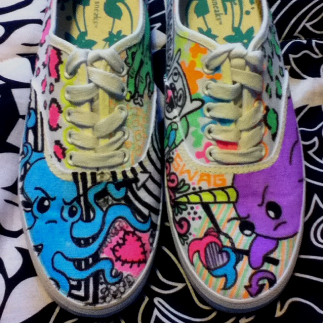 Drawn vans creative These shoes and I some