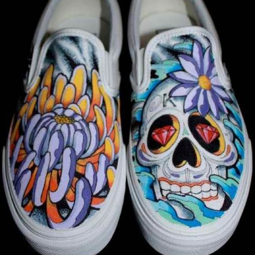 Drawn vans creative Shoes Shoes Illustration Cool Sharpie