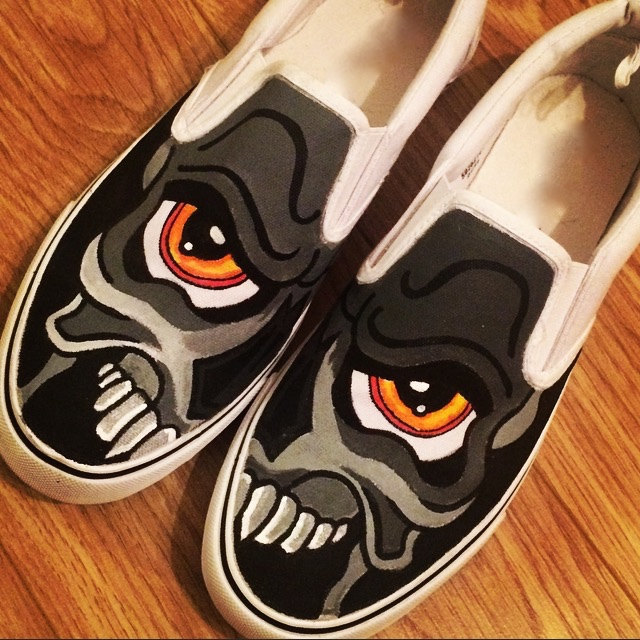 Drawn shoe vans graphic Converse Converse Shoes  Graffiti