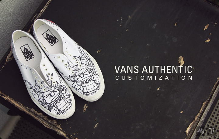 Drawn vans custom authentic I to the piece compare
