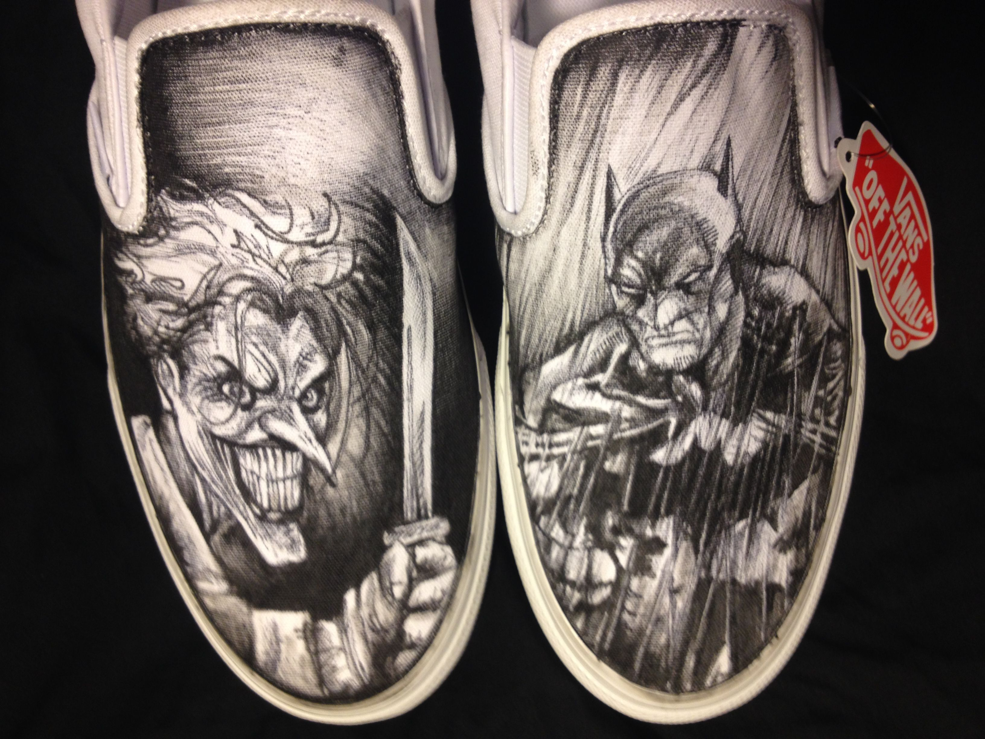 Drawn vans custom drawn Custom And Made to Hand