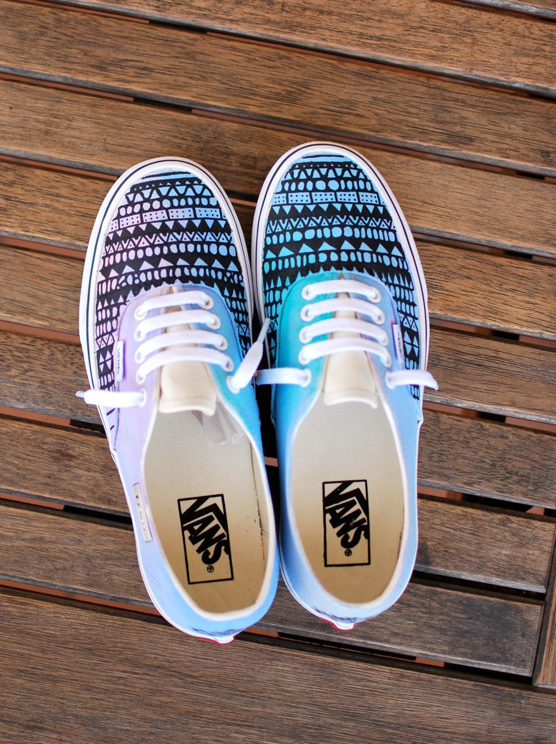 Drawn vans cute Shoes Tribal BStreetShoes Inspired Universe