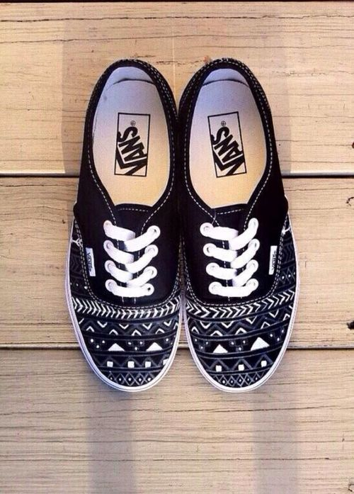 Drawn vans cute #2