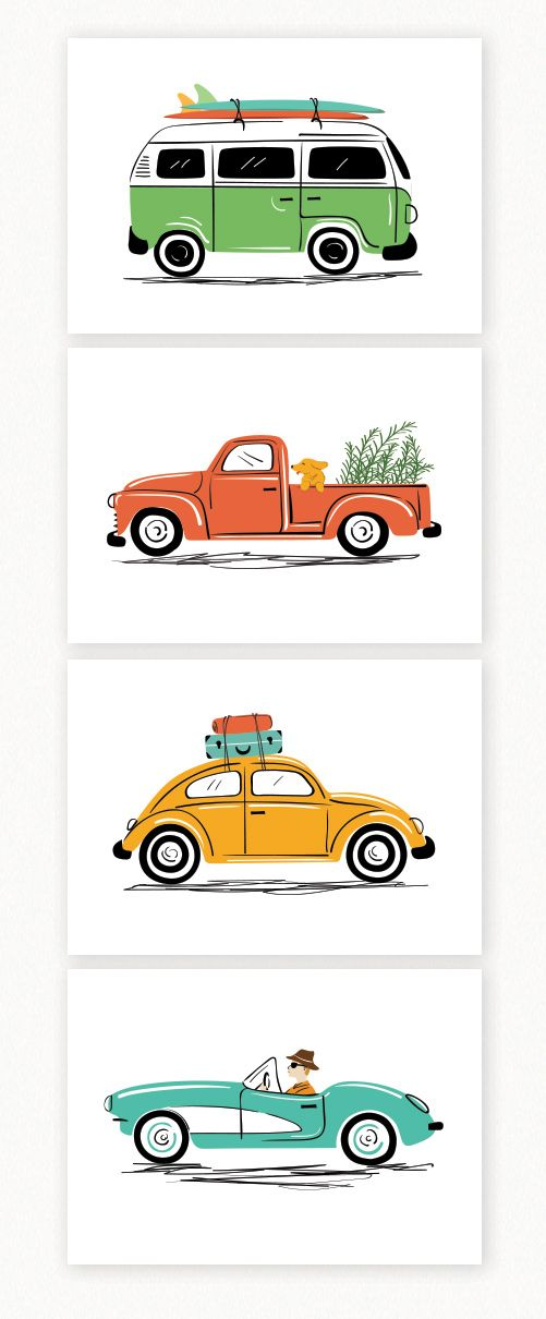 Drawn vans cute Beetle of illustrations Best Pinterest