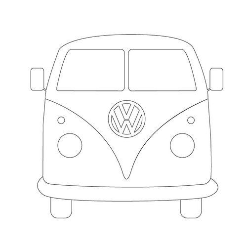 Drawn vans designed 835 campervan cookies vw images