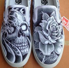 Drawn vans diy DIY  the side Vans