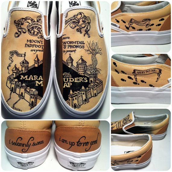 Drawn vans diy Shoes painted on are the