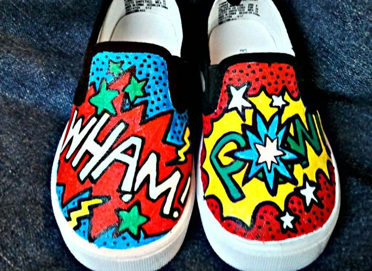 Drawn vans diy On POW painted Best 25+