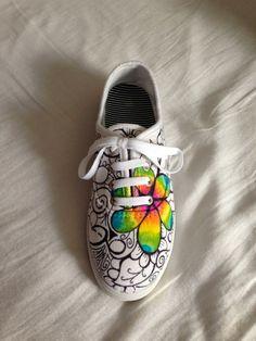 Drawn vans doodle Shoes DIY designs DIY shoes