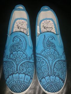 Drawn shoe henna Hand Drawn Shoes Baby/Toddler by