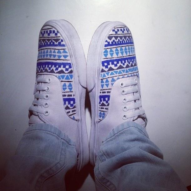 Drawn vans doodle Aztec Doodles on Pinterest shoes