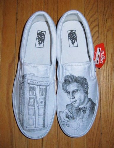 Drawn vans dr who Ideas • illustrations with Dr