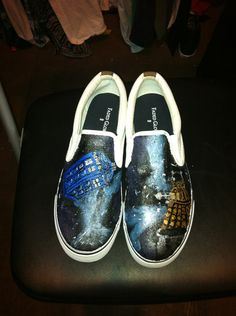 Drawn vans dr who Birthday Etsy Frozen Etsy $40