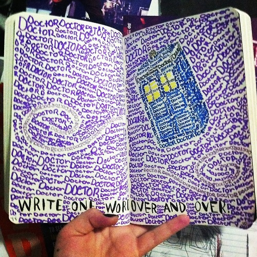 Drawn vans dr who  doctor text wreck dw