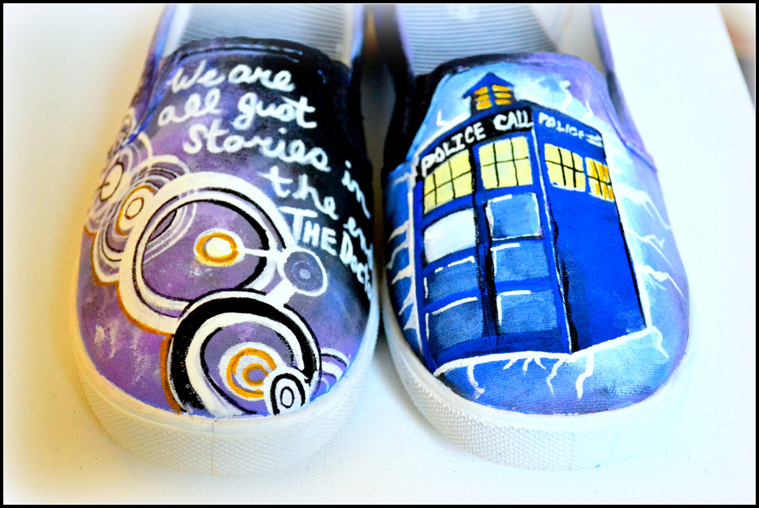 Drawn vans dr who Shoes Shoes Shoes Custom Doctor