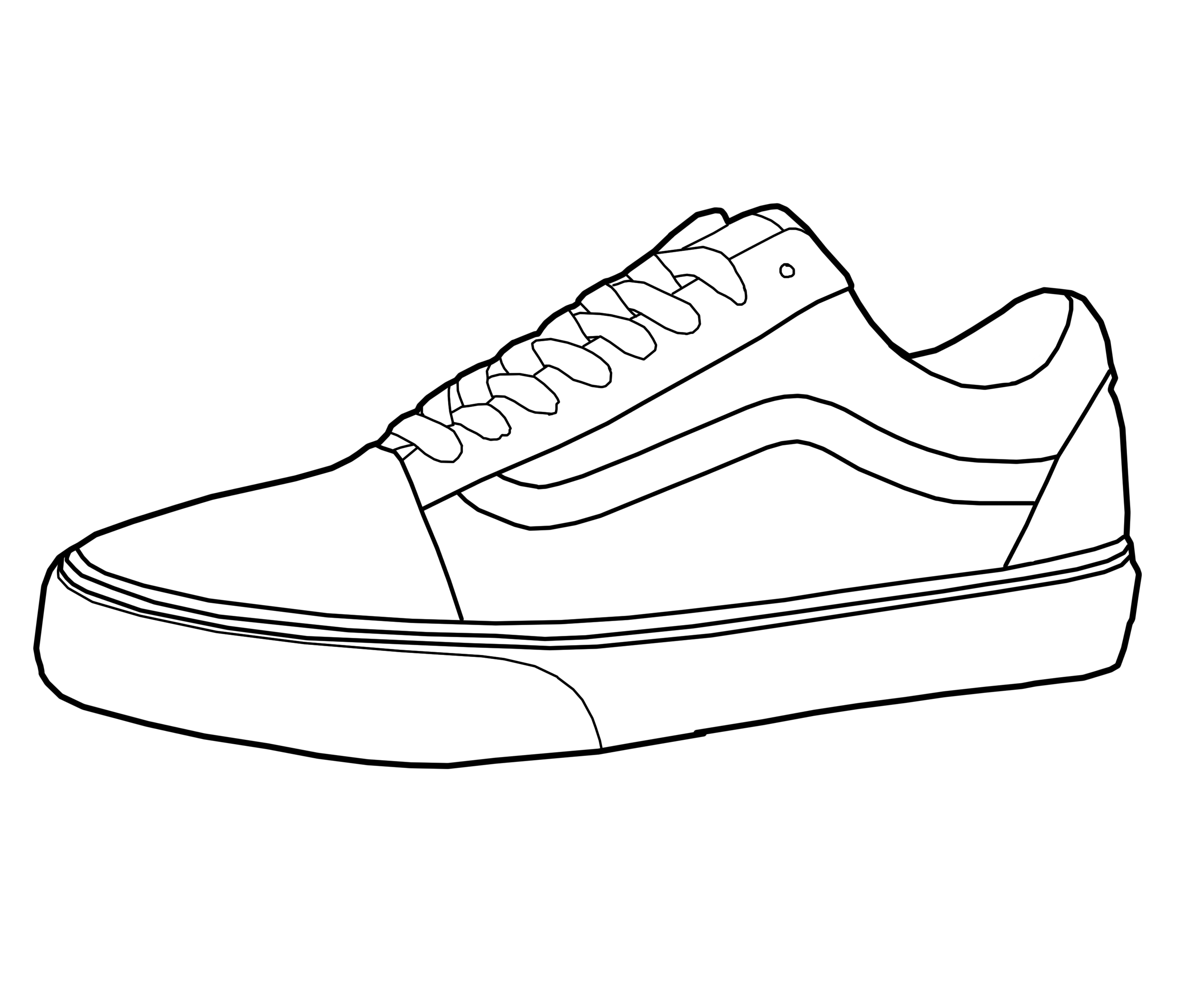 Drawn vans easy #14