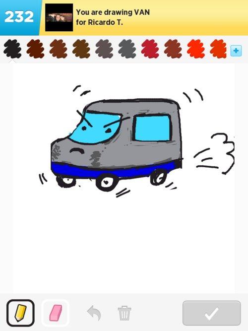 Drawn vans easy #2