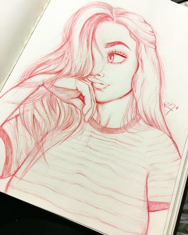 Drawn vans girly Drawn girl on Cute by