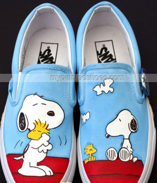 Drawn vans handpainted Painted Painted com Anime Vans