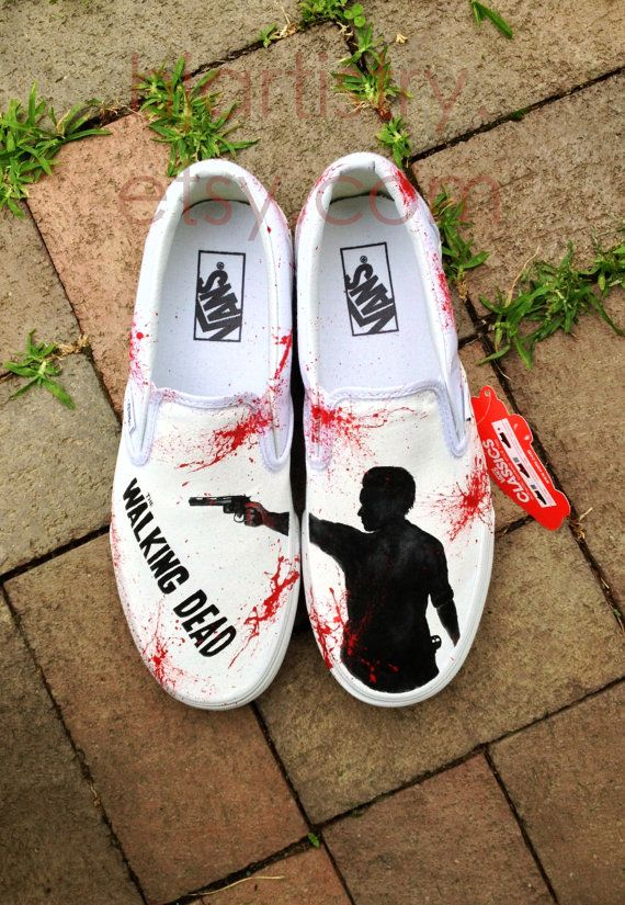 Drawn vans handpainted Images Pinterest about  on