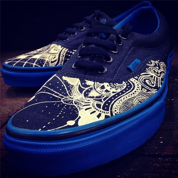 Drawn vans handpainted Pinterest Vans on on Best