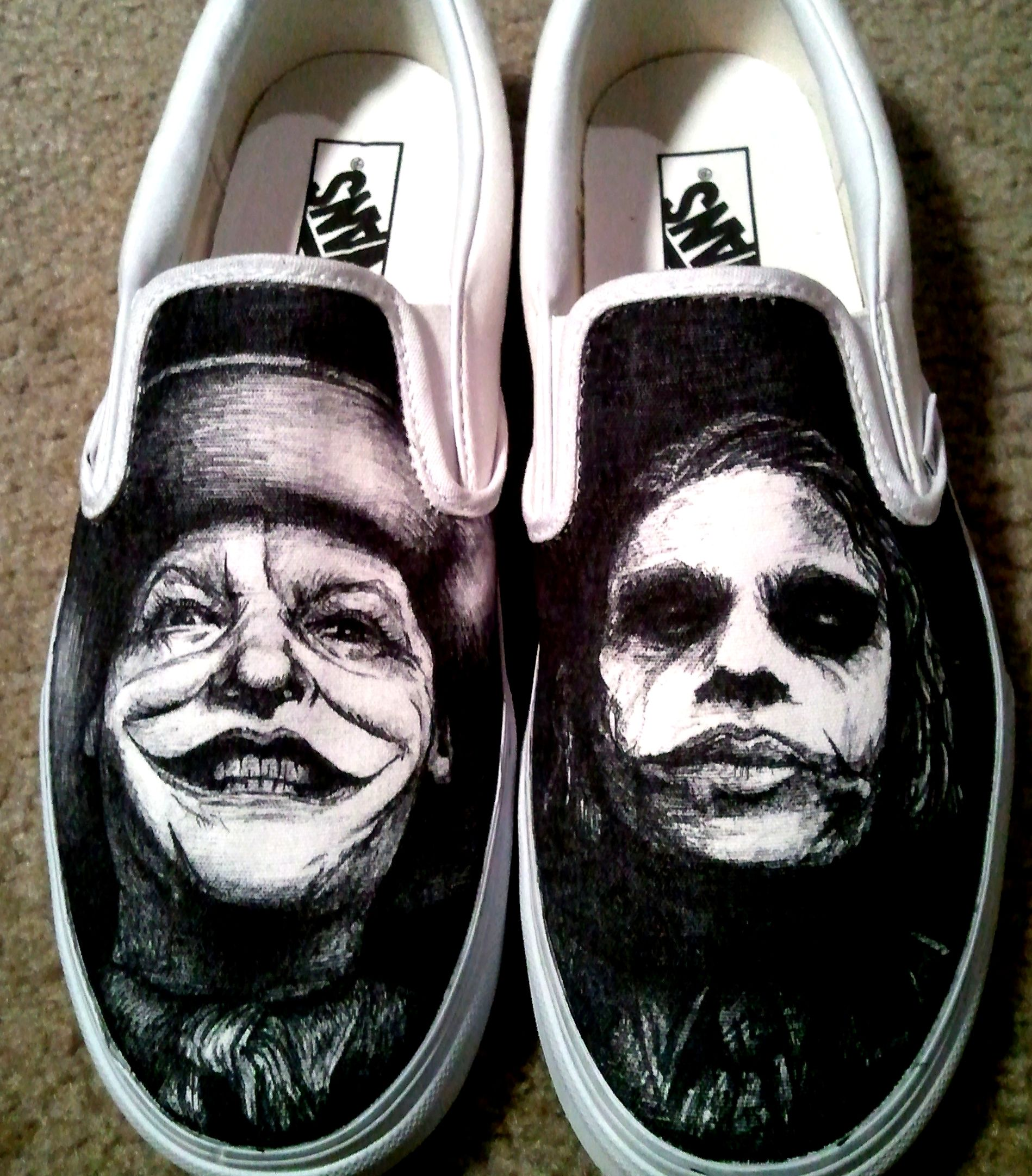 Drawn shoe van Made Custom Shoes Alzado to
