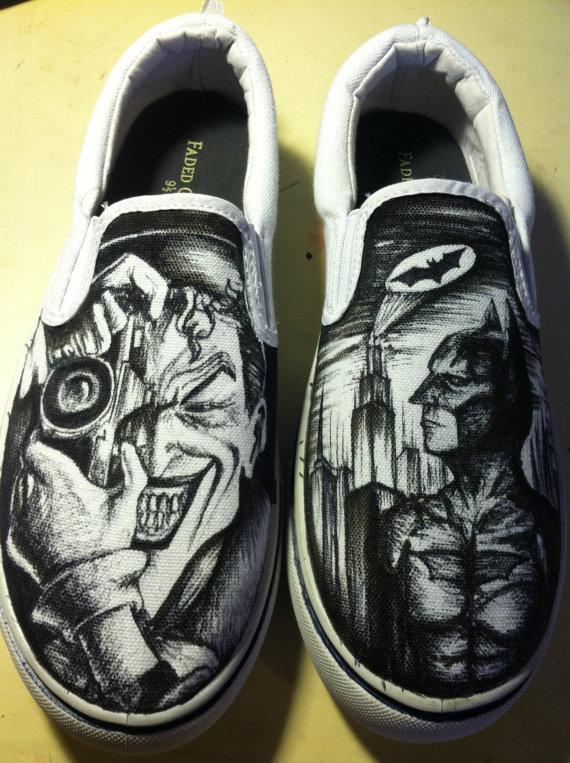 Drawn vans joker It Drawn Hand and Joker