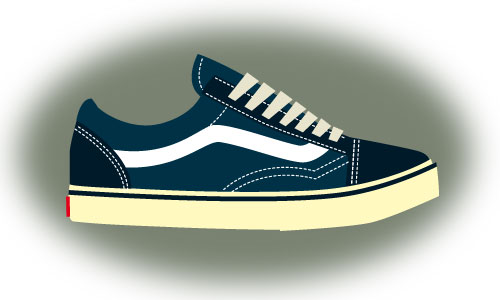 Drawn vans old shoe #5