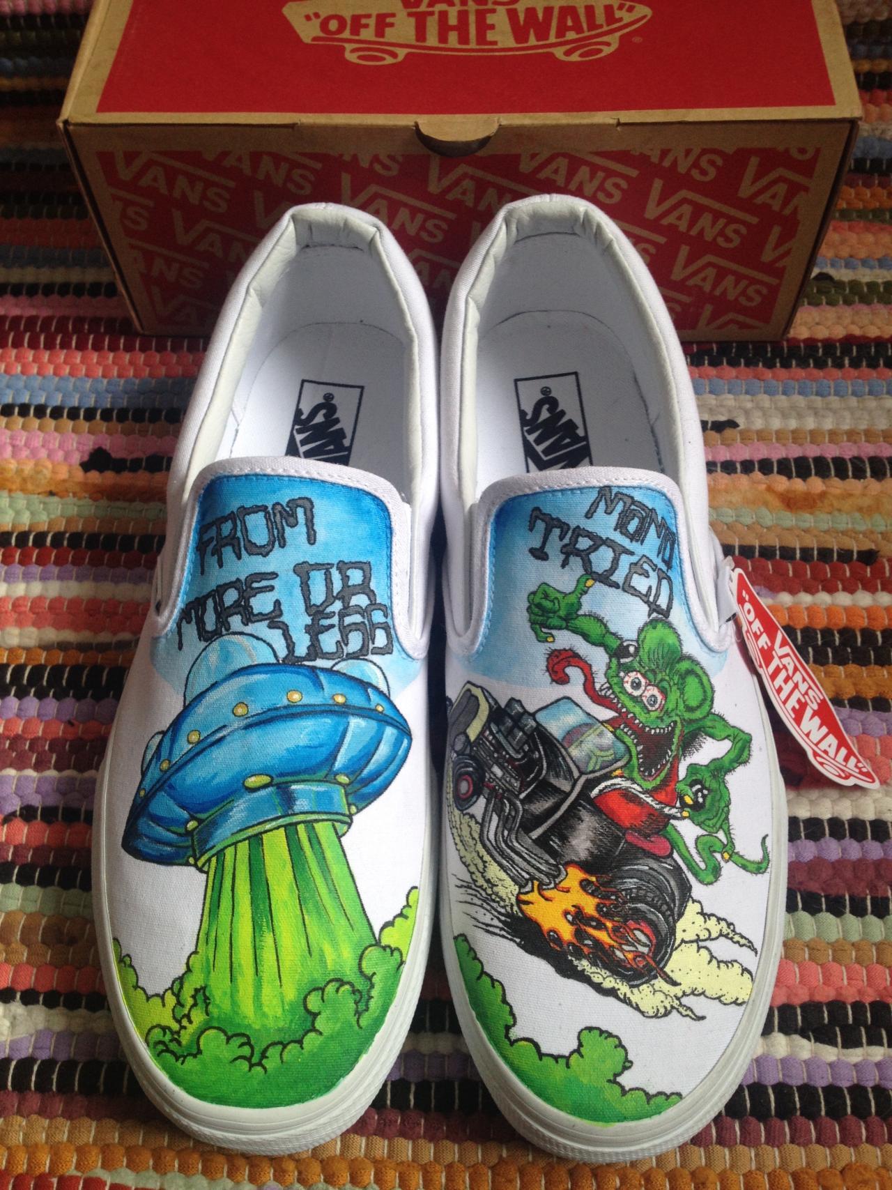 Drawn vans old shoe #9