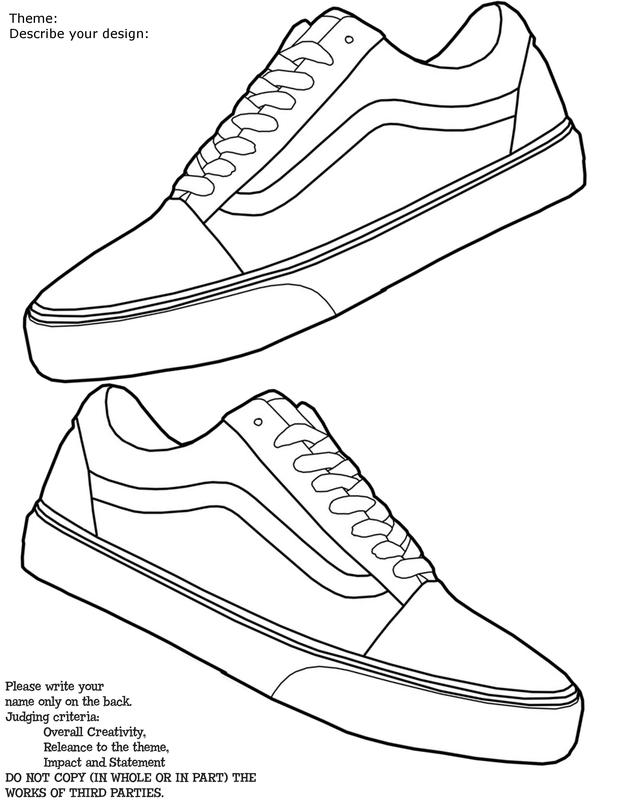 Drawn vans old shoe #14