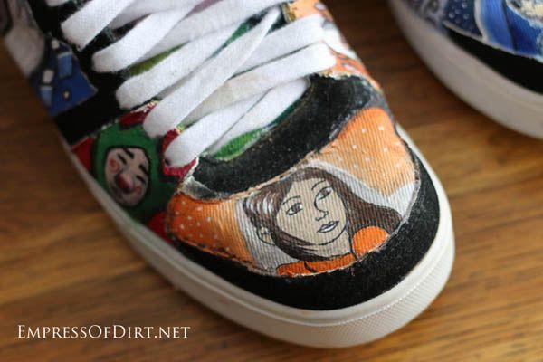 Drawn vans paint #10