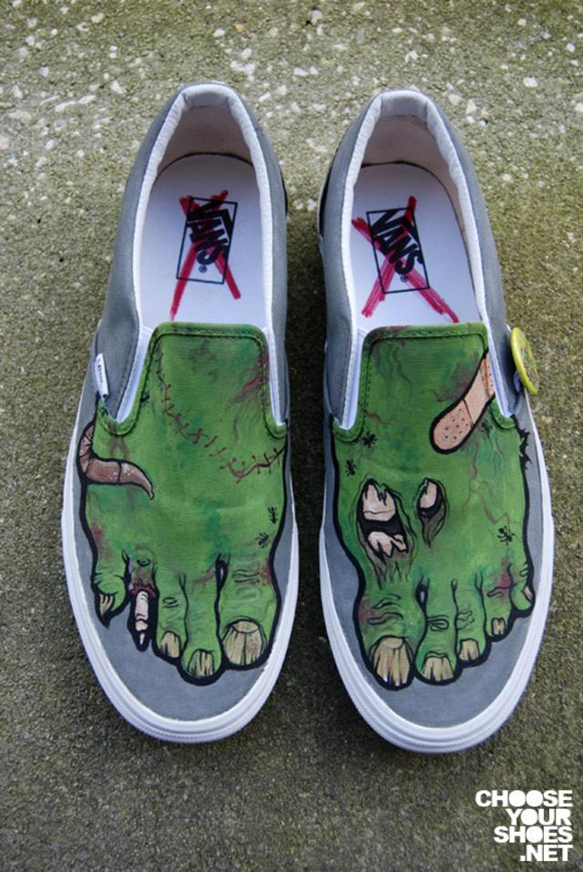 Drawn shoe vans graphic Custom Shoe 19 Custom Shoes