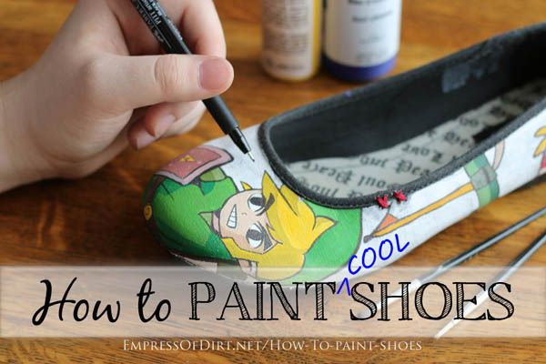 Drawn converse canvas shoe Paint To Empress Dirt How