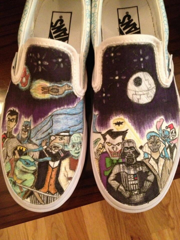 Drawn vans pinterest #14