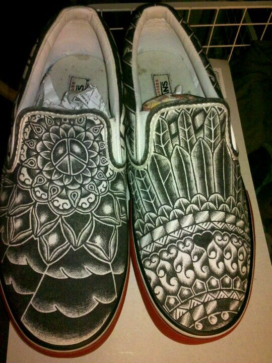 Drawn vans pinterest #6