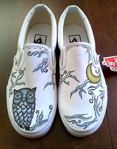 Drawn vans psychedelic Good $220 White so a