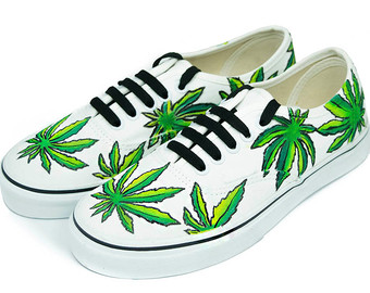 Drawn vans psychedelic Hand Vans Custom Vans Design