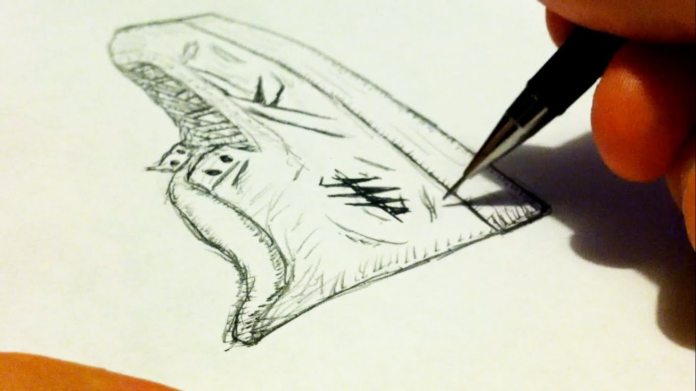 Drawn shoe realistic Drawing Realistic YouTube How from