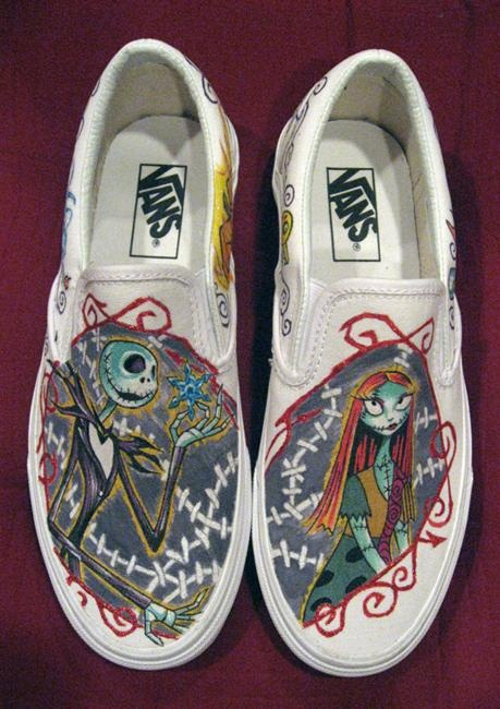Drawn vans sally Different Pairs of Custom Jack