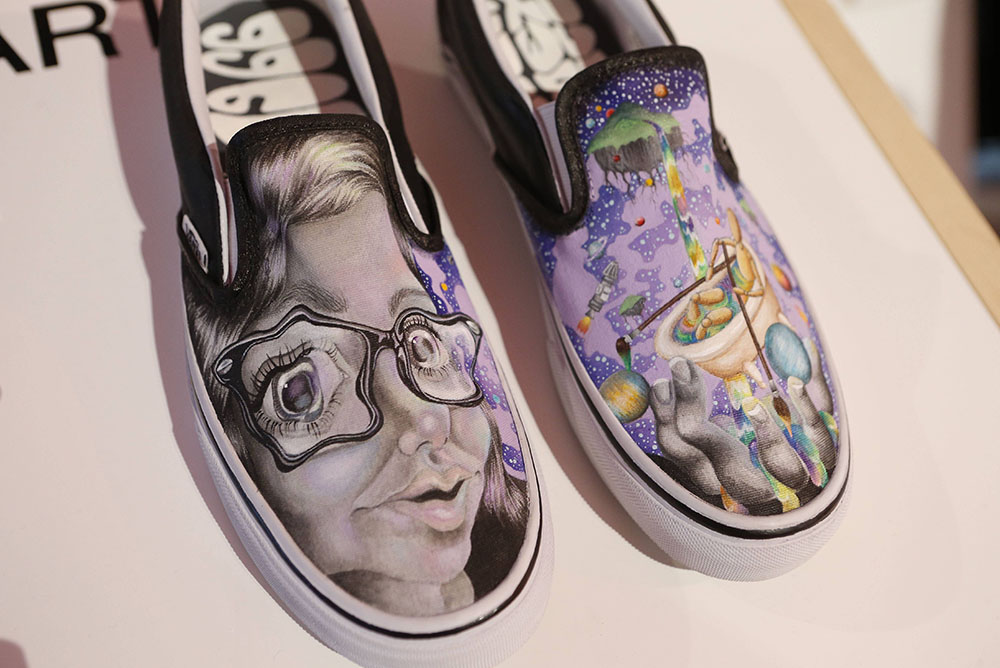 Drawn vans school shoe School's School Vans Art Van