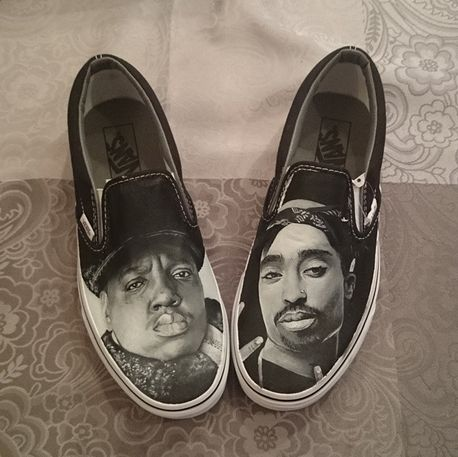 Drawn vans school shoe VansCustom hand UK on painted