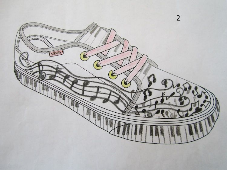 Drawn vans school shoe 63 of In Pinterest almost
