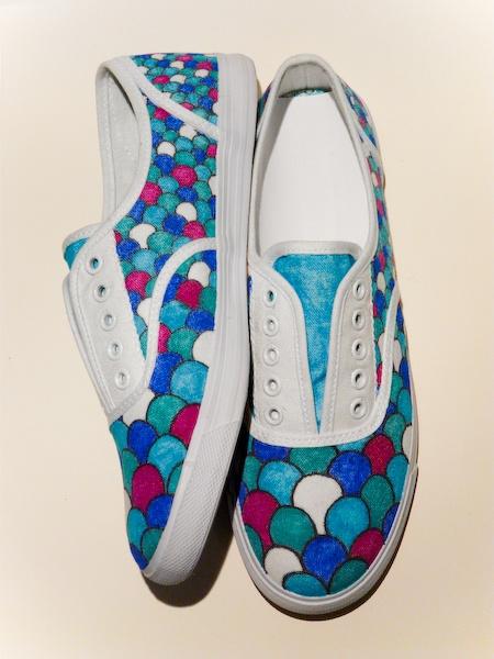 Drawn vans sharpie art Pinterest Best shoes Painted ideas