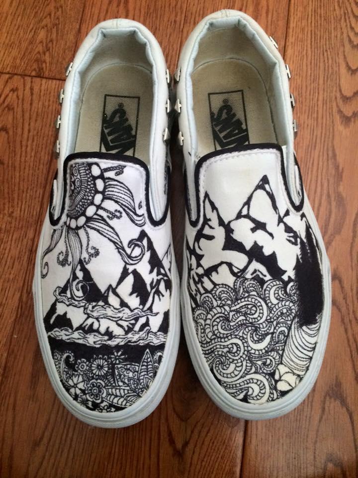Drawn vans sharpie art Vans #design pick your #drawing
